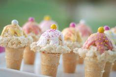 Cute As a Fox: Kelloggs Rice Krispies Ice Cream Cones