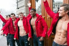 Abercrombie & Fitch male models Amsterdam Red Sweaters, Abercrombie Male, Abercrombie Fitch, Daily Boys, Models Amsterdam, Fitch Amsterdam, Red Hot, Male Models, Fitch Male