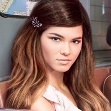 tags, hairstyles, hair colors, ombre hair color, ombr hair, caramels, beauti, brown hair, highlights
