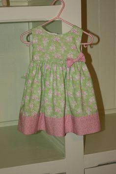 McCall's Pattern #M6015 - Little girl's dress