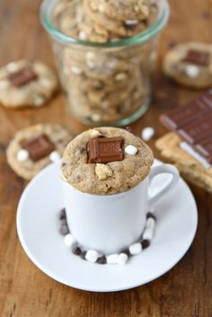 Mini S'mores Cookies on www.twopeasandthe...