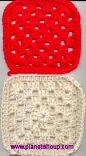Charity Granny Square Blanket pattern. Going to make some for my local Animal Shelter from left over yarn :)