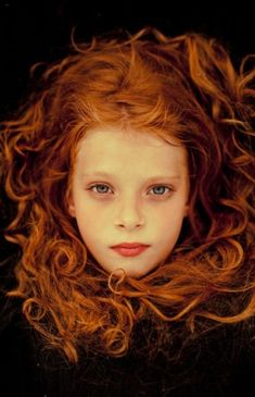ginger cloud. hair colors, red hair, children, beauty, gingers, redheads, portraits, redhair, curly hair