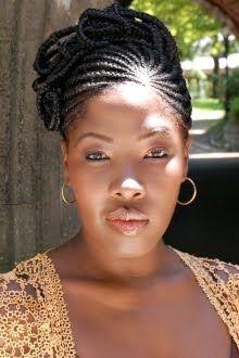 African American Wedding Hairstyles & Hairdos: Bridal Braids