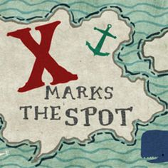 Letter X = X Marks the Spot. The kids went around the children's department looking for the letter X. Once they found one, they got to keep the surprise that was taped to the back!