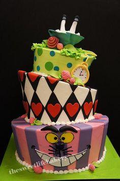 Alice in wonderland cake wonderland cake
