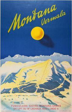 Montana Vermala - Switzerland, 1950s