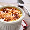 cheaters guide cappuccino creme brulee and vanilla creme brulee