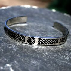 Celtic Knot Stainless Steel Cuff