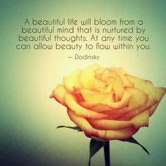 Allow Beauty To Flow Within