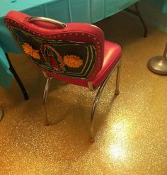 How To Glitter A Concrete Floor