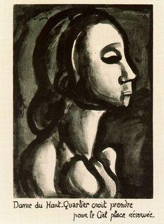 Georges Rouault paintings | Georges Rouault painting | Georges Rouault artist | Georges Rouault