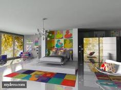 pop art interior design inluence