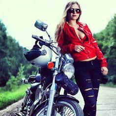 find your biker babe at http://www.bikerkiss.org/ #bikerchicks #bikerbabes #biker dating #motorcycles