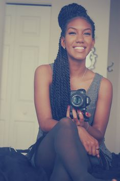 Senegalese twists - protective style