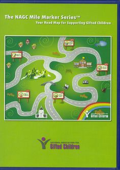 This CD, a road map to supporting the needs of gifted children, is put out by the National Association for Gifted Children and includes a collection of essays and articles written by professionals in the field of gifted education. Two of my articles appear at Mile Marker three and one at Mile Marker four.