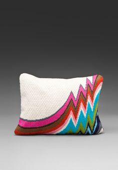 Bargello Jamaica Lane Pillow, by Jonathan Adler