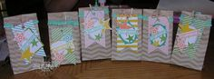 Stampin Up Tag a Bag ideas with Accessories kit and Simply Stars Stamp set