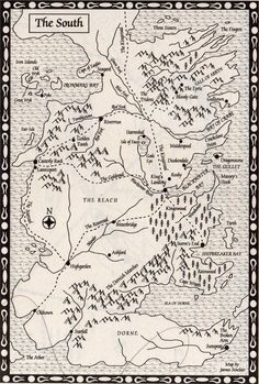 Westeros - Maps - The South