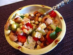 Black-Eyed Pea & Corn Salad