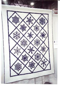 My first Dakota County Sweepstake winner.  Hand appliqued and hand quilted, original pattern.