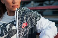 Contemporary. Modern. Original. A lightweight layer to inspire any look. The Nike Printed Windrunner.