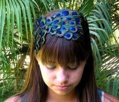 Casey Peacock Headband
