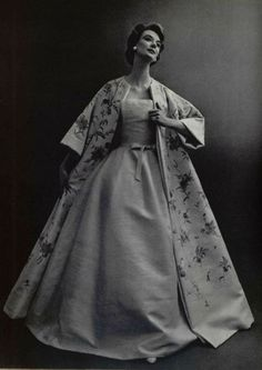 1956 - Christian Dior Evening gown