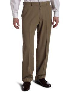 Haggar Men`s Mynx Gabardine Dress Pant