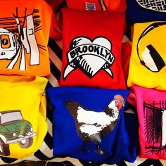 Favorite Made in USA clothes for kids: Brooklyn Junior tees