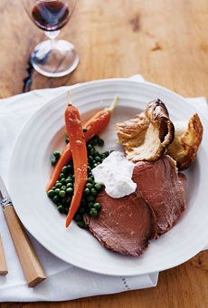 ... roast, butter, roast dinner, dinners, roast beef, carrots, center