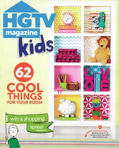 Rosenberry Rooms is featured in the September 2014 issue of HGTV Magazine!