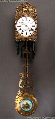 Reloj de pared.