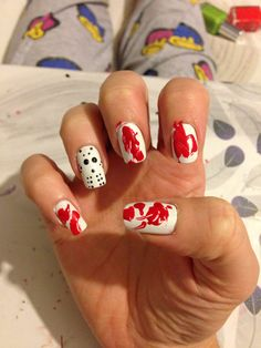 Friday the 13th nails - awesome!