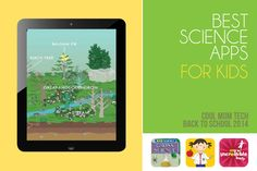 16 best science apps for kids: Get ready to load up the tablets with some new educational apps!