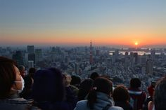 Tokyo's first sunrise of 2014