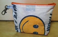 Fused Plastic Bags Wallet by Traashart on Etsy, $15.00