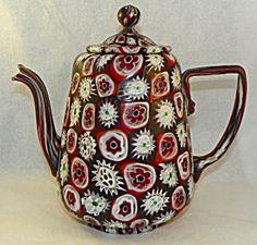 Italian Art Glass Teapot
