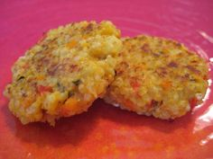 Millet Cakes on Weelicious