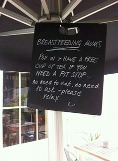 """""""From a restaurant in Australia... showing the right way to behave.""""--- THIS is incredible."""