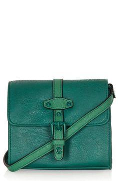 Emerald Topshop Mini Crossbody Bag