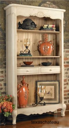 French Tuscan Home Decor Store | Tuscan French Country Style Decor Furniture Painted Cupboard Bookcase ...