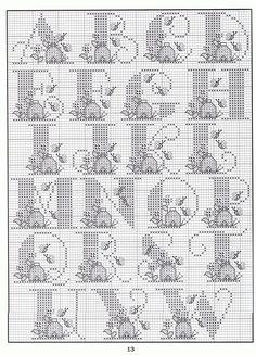 Bee Hive alphabet1