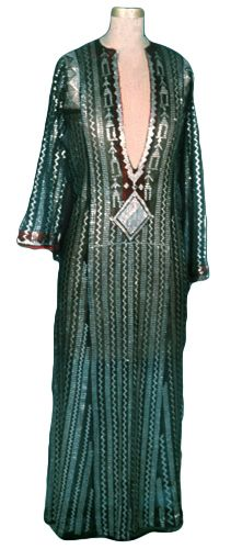Woman's dress, Sudan, c. 1880's.