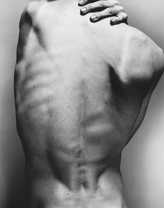 back, body, hand, black and white, photography