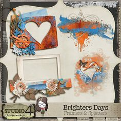 Brighter Days - Framers & Splatters #studio4designworks