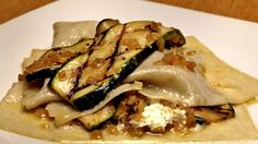 Free-form zucchini lasagna #MeatlessMonday