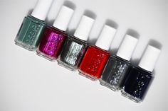 Essie Fall 2013 - blog shows all Essie colors on real nails.