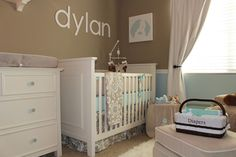 Project Nursery - Taupe Suzani Crib Bedding by Carousel Designs