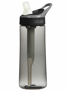 The CamelBak Groove ($15) has a chlorine- and odor-removing filter built into its straw, so you can gulp pristine water whether you fill up from your kitchen faucet or the park fountain.